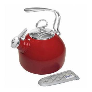 Chantal Classic Teakettle, 1.8-Qt. - Red