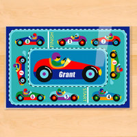 Olive Kids Vroom! Personalized Placemat
