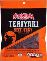 Stater Bros.® Teriyaki Beef Jerky 2.85 oz. Pouch