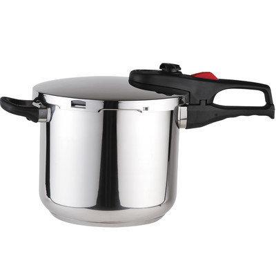 Magefesa Practika Plus Stainless Steel Super Fast Pressure Cooker Size: 3.3 Quart