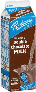 Producers Double Chocolate Vitamin D Milk 1 Qt Carton