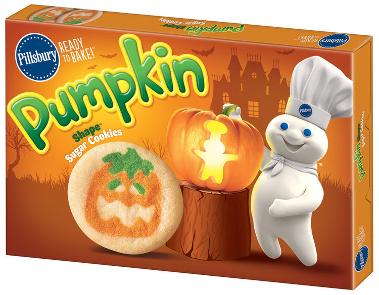 Pillsbury Ready to Bake!™ Pumpkin Shape™ Sugar Cookies