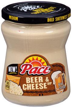 Pace® Medium Beer & Cheese Dip 15 oz. Jar
