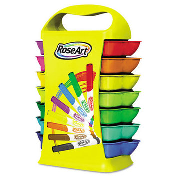 The Board Dudes Art Markers Broadline Markers, Storage Caddy