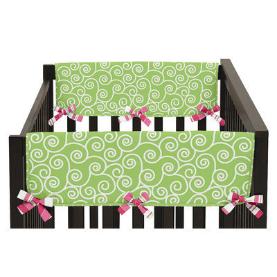 Sweet Jojo Designs Olivia Side Crib Rail Guard Cover