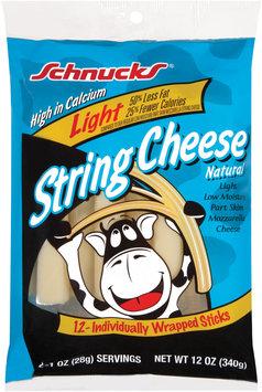 Schnucks Natural Light 12 Oz String Cheese 12 Ct Peg
