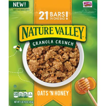 Nature Valley® Oats 'n Honey Granola Crunch 16 oz. Pouch