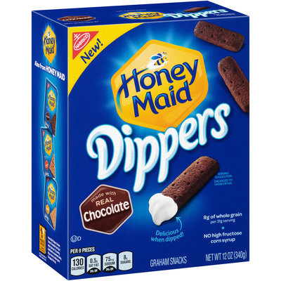 Honey Maid Dippers Chocolate Graham Snacks 12 oz. Box