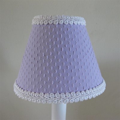 Silly Bear Teeny Chenille Table Lamp Shade Color: Purple