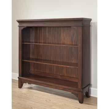 Westwood Design Hayden Convertible Hutch/Bookcase - Rough Sawn Espresso