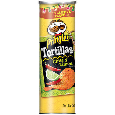 Pringles® Tortillas Chile Y Limon Tortilla Crisps