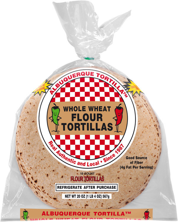 Albuquerque Tortilla™ Homestyle Flour Tortillas 10 count