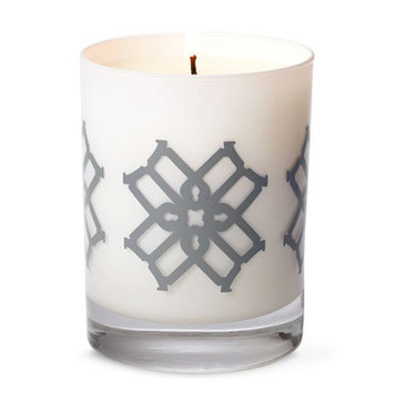 B By Brandie Minnie's Shades of Gold Designer Candle Color: Gray