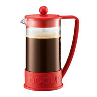 Bodum Brazil French Press Coffeemaker Size: 12 oz, Color: Red