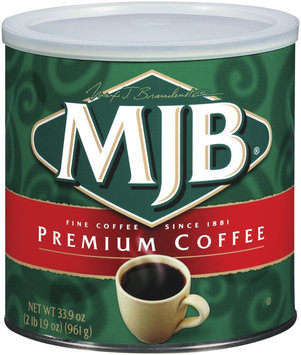 MJB Premium Coffee 33.9 Oz Canister