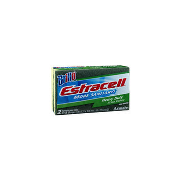 Armaly Brands 2 Count Heavy-Duty Estracell Scrub Sponge