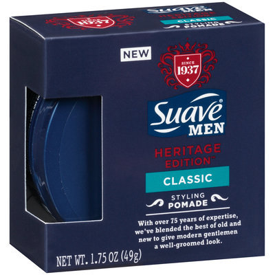 Suave® Men Heritage Edition™ Classic Styling Pomade 1.75 oz. Box