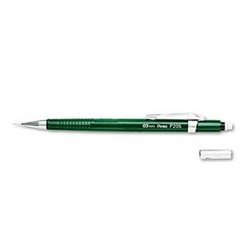Pentel P205D Sharp Mechanical Drafting Pencil 0.5mm Green Barrel