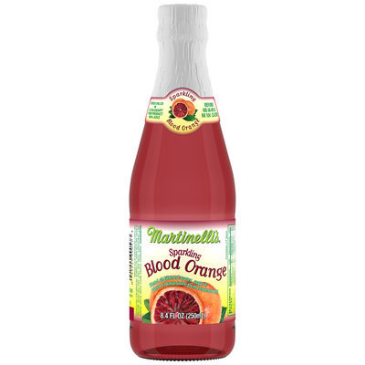 Martinelli's® Sparkling Blood Orange Fruit Drink 8.4 fl. oz. Bottle