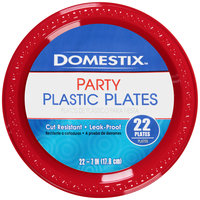 Domestix™ 7 in. Party Plastic Plates 22 ct Pack