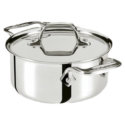All Clad Specialty Cookware 0.5-qt. Cocottes with Lids