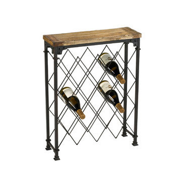 Cyan Design 04542 Hudson Wine Rack in Rustic