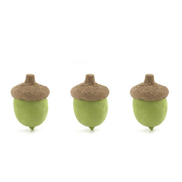 Kikkerland Acorn Eraser (Set of 24)