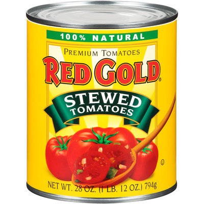 Red Gold® Stewed Tomatoes 28 oz. Can