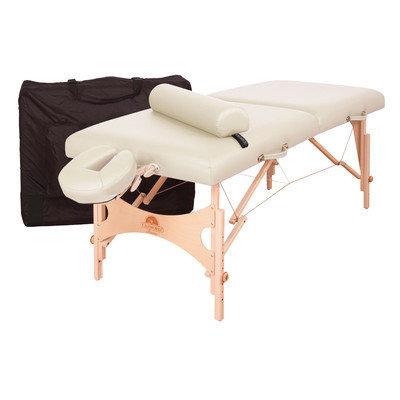 Oakworks Aurora Massage Table (Essential Package) - Color: Opal, Width: 30