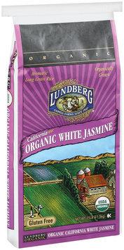 Lundberg Family Farms Og California White Jasmine Rice Organic 25lb. Rice 25 Lb Bag
