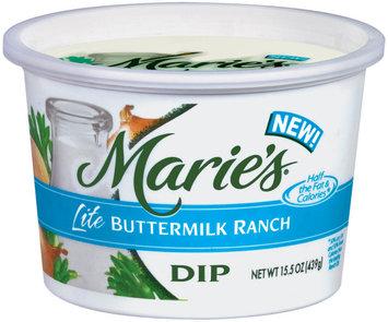 Marie's Lite Buttermilk Ranch Dip 15.5 Oz Tub