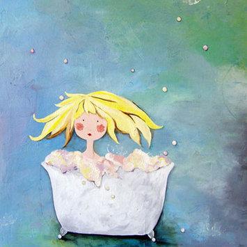 Cici Art Factory Wit & Whimsy Bubbles Canvas Art