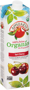 Apple & Eve® 100% Juice Organics Tart Cherry Juice 33.8 fl. oz. Carton