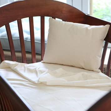 Naturepedic - Organic Cotton Fitted Crib Sheets - Ivory Flannel 3-Pack