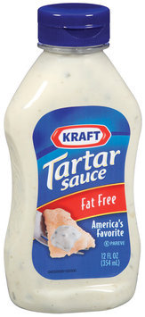 Kraft Specialty Sauces Fat Free Tartar Sauce 12 Fl Oz Squeeze Bottle