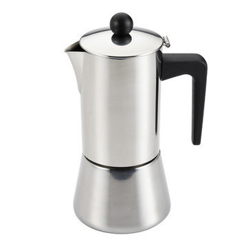 Meyer Corporation Us BonJour Coffee Stainless Steel 6-cup Stovetop Espresso Maker