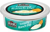 Reser's Fine Foods Creamy Ranch Dip 8 Oz Plastic Tub