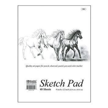Bazic Prem Sketch Pad 18X12 In 20 Ct(Case of 12)