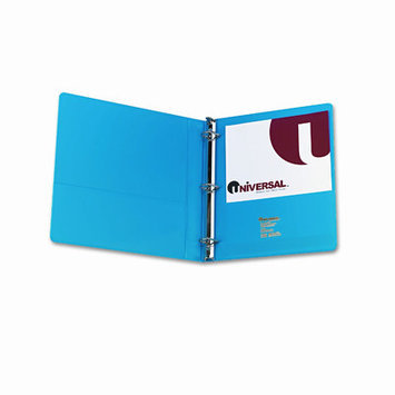 Universal Economy White D-Ring View Binder 1in