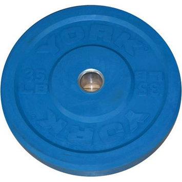 York Barbell Training Bumper Plate Weight: 35 lbs