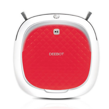 Ecovacs Robotics - Deebot D35 Bare Floor Cleaning Robot - Red