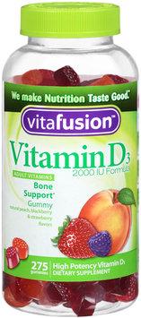 Vitafusion™Vitamin D3 2000 IU Formula Adult Vitamins 275 ct Plastic Bottle