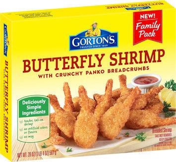 Gorton's® Butterfly Shrimp with Crunchy Panko Breadcrumbs 20 oz. Box