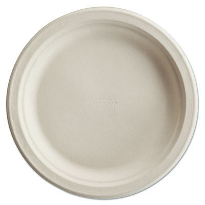 Chinet Paper Pro Round Plates, 8 3/4 Inches, White, 125/Pack