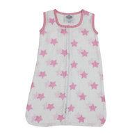 Bacati Stars Sleep Sack Color: Pink, Size: Medium
