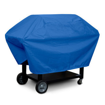 KoverRoos O3054 Weathermax X-Large Barbecue Cover Pacific Blue - 29 D x 66 W x 45 H in.