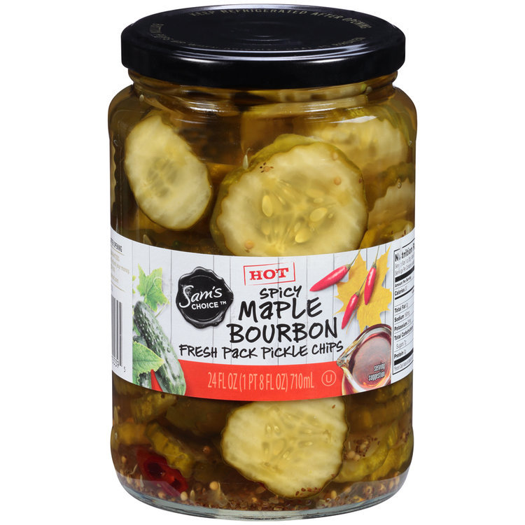 Sam's Choice™ Spicy Maple Bourbon Fresh Pack Pickle Chips