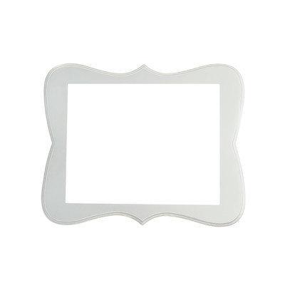 Secretly Designed Chase Frame Size: 5x7, Color: Cream