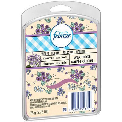 Wax Melt Febreze Wax Melts Violet Bloom Air Freshener (1 Count, 2.75 Oz)