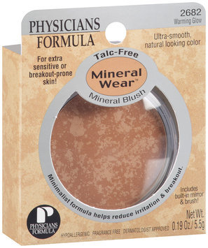Physicians Formula® Mineral Wear™ Warming Glow Mineral Blush .19 oz
